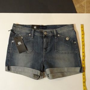Rock & Republic Jean Shorts **NEW** 12